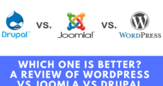 Which One is Better? A Review of WordPress vs Joomla vs Drupal