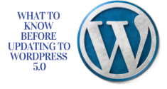 What to Know before Updating to WordPress 5.0